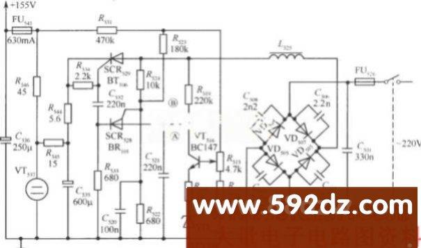 电子电路图   电源电路图