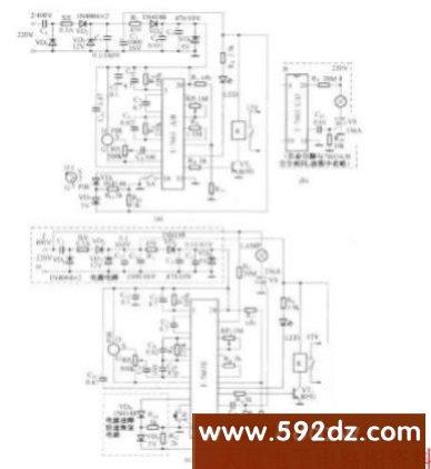 电子电路图   遥控电路图   红外线热释遥控电路图