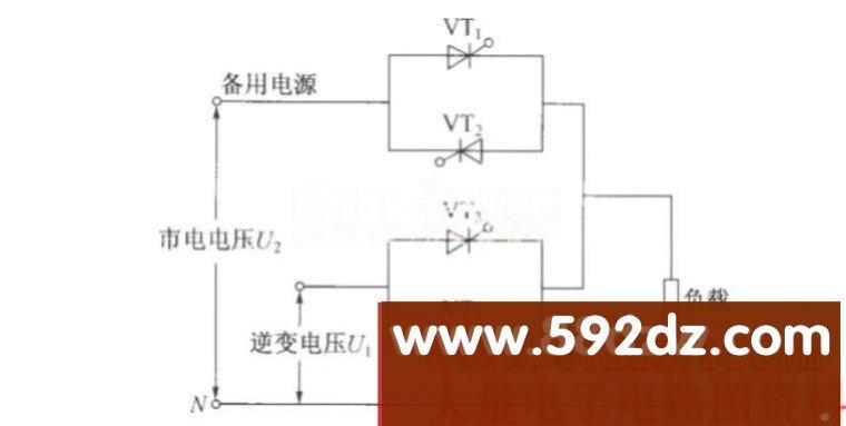 静态开关基本原理图_其他电源电路电路图