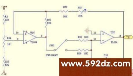 三角波载波产生器电路图