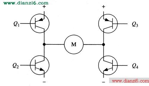 h桥式电机驱动电路的工作原理
