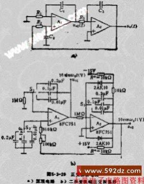 r2r dac电路图