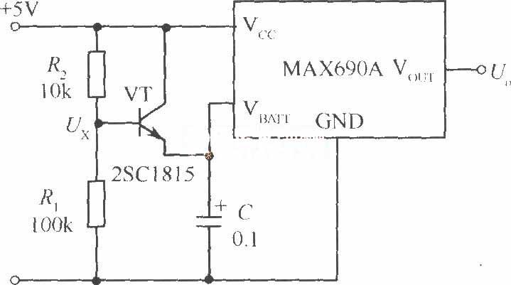 可任意设定后备电源电压的电路