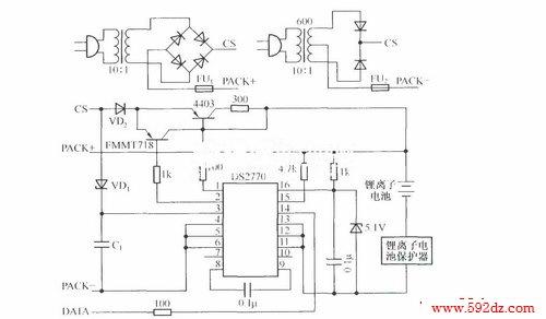 基于ds2770的非稳压电源脉冲充电器_其他电源电路电路