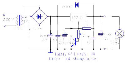 lm317t应用电路一例
