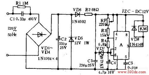 km_6657c灯板电路图