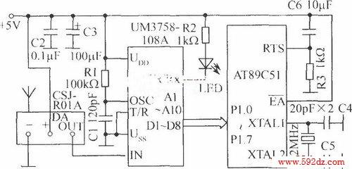 激光自动报靶系统_光电电路图_我就爱电子网