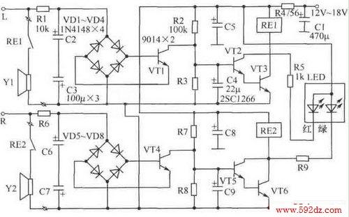 标签: 音频电路图, 音频电路大全,电路图讲解, 电子电路图
