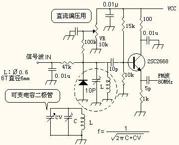 fm频率调制/解调电路的设计和制作