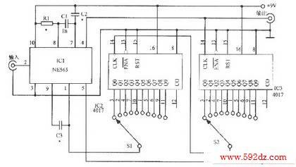 锁相环电路构成的倍频器